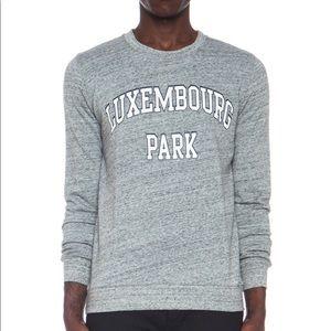 A.P.C. Luxembourg Park Crewneck Sweatshirt - M